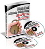 Thumbnail High End Affiliate Marketing Secrets eBooka and Audio (PLR)