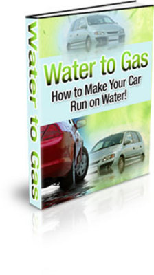 Product picture Water To Gas: How To Make Your Car Run on Water! with PLR