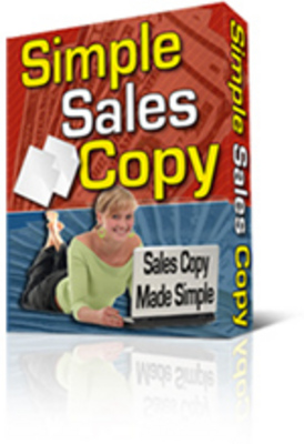 Product picture Simple Sales Copy Creator Software -PLR