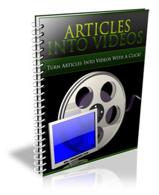 Product picture Articles Into Videos (PLR)