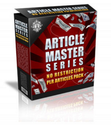 Product picture Article Master Series Vol.15 (PLR)