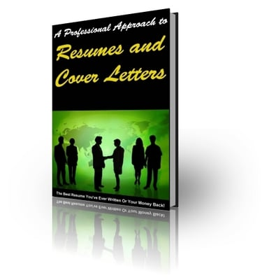 Product picture A Professional Approach To RESUMES & COVER LETTER (PLR)