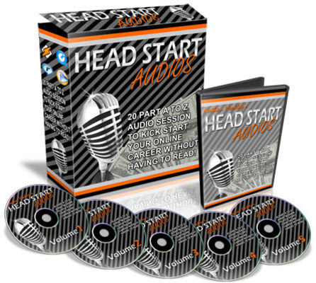 Product picture Head Start Audios (PLR)