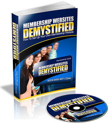 Product picture Membership Websites Demystified eBook & Audio